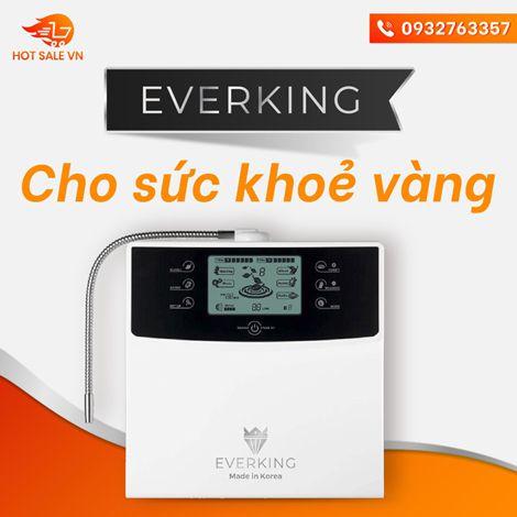 30 ngày trải nghiệm miễn phí máy lọc nước điện giải Everking EK99
