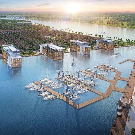 Bến Lức tăng tốc hình thành vùng đô thị hiện đại