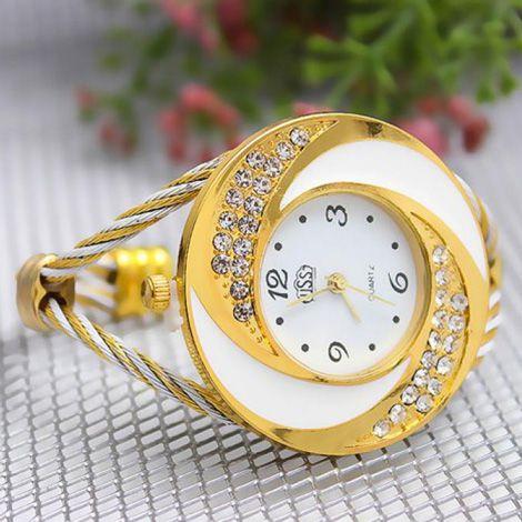 Đồng hồ lắc tay mặt lốc xoáy