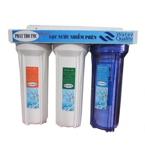 Bộ lọc nước máy sinh hoạt 3 ly 10 inch