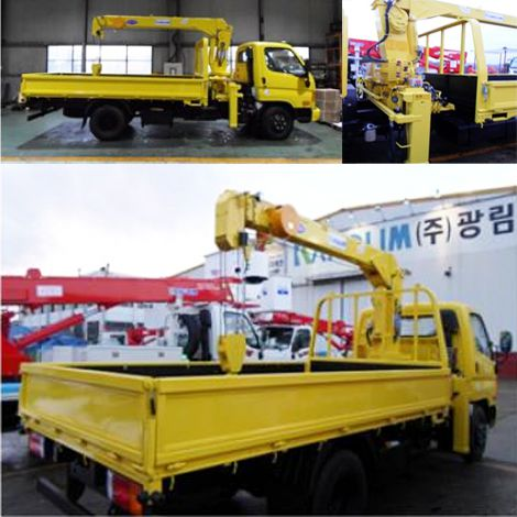 Hyundai HD78 lắp cẩu Kanglim 3 tấn 3 khúc