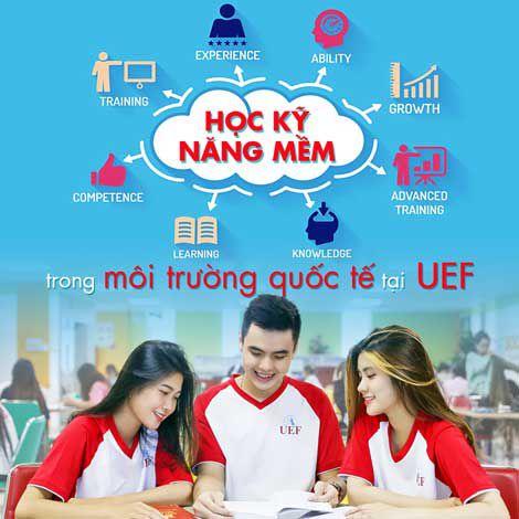 Học kỹ năng mềm trong môi trường quốc tế tại UEF