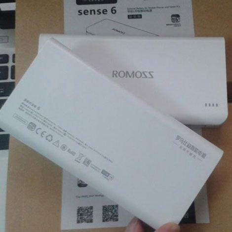 Pin dự phòng Romoss Sense 6 dung lượng 20000 mAh