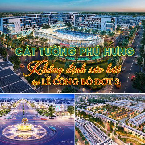 Cát Tường Phú Hưng khẳng định sức hút tại lễ công bố đợt 3