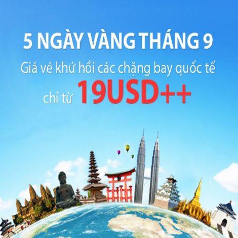 Ưu đãi đặc biệt 5 ngày vàng tháng 9 cùng Vietnam Airlines