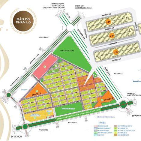 Đất nền thương phẩm dự án Victoria City Đồng Nai