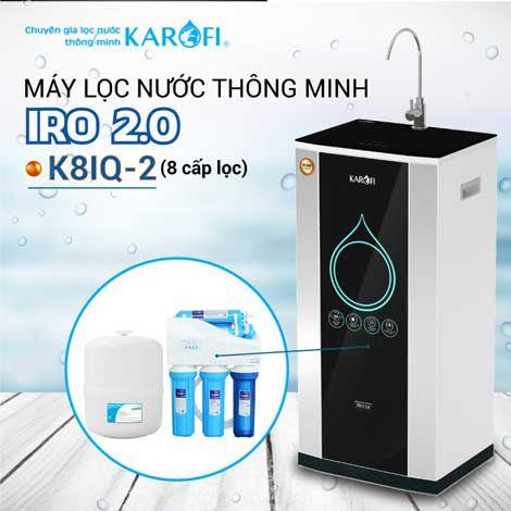 Máy lọc nước RO KAROFI iRO 2.0 K8IQ-2 (8 cấp lọc)