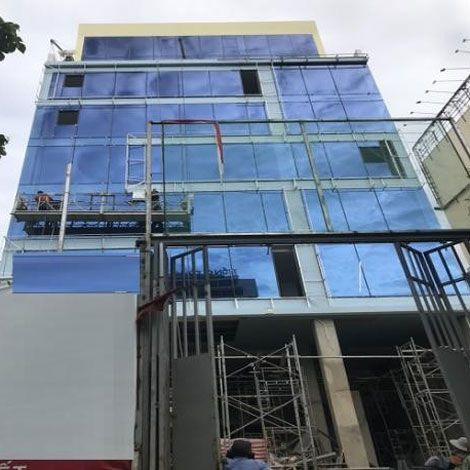 Cho thuê tòa nhà trên đường Trường Sơn, Q. Tân Bình