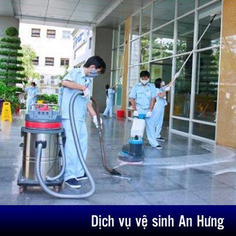 Dịch vụ vệ sinh công nghiệp An Hưng