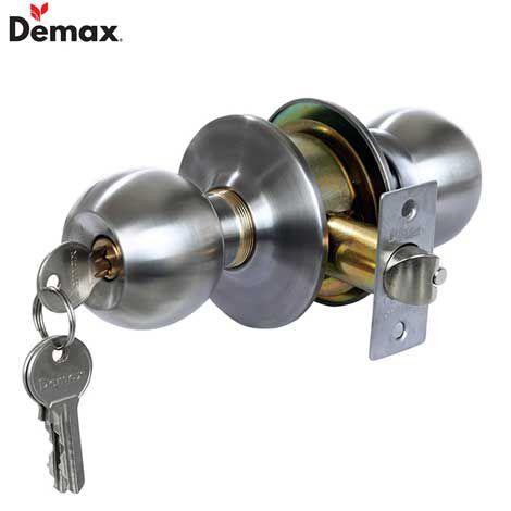 Xả kho khóa tay nắm tròn Demax LK301 SS giá 75.000đ