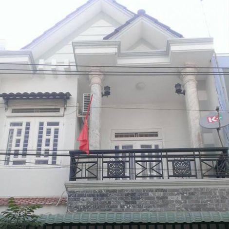 Nhà mới xây 1 trệt 1 lầu phường Đông Tác - Dĩ An Bình Dương