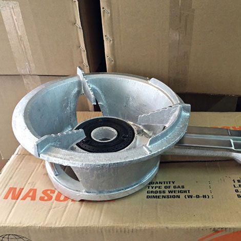 Bếp khè gas công nghiệp Nasonal 168-2