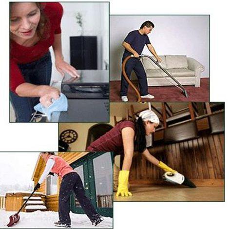 Dịch vụ vệ sinh hàng ngày, hàng tuần, định kỳ
