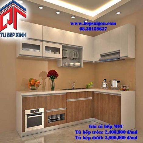Tủ Bếp Xinh chuyên đóng tủ bếp gỗ chất lượng cao