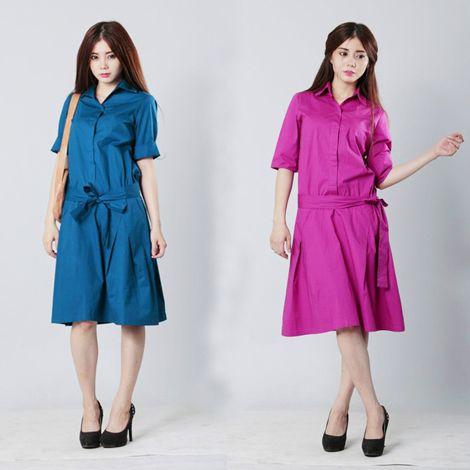 Phong cách Street Style Thái Lan với đầm Palette