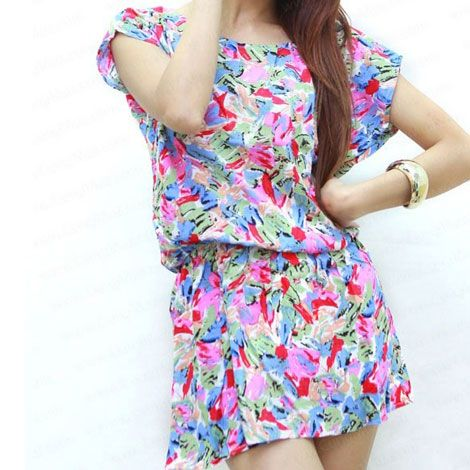 Đầm hoa cánh dơi