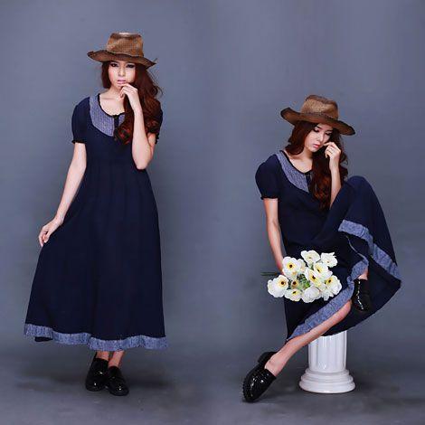 Đầm maxi dài phong cách cổ điển