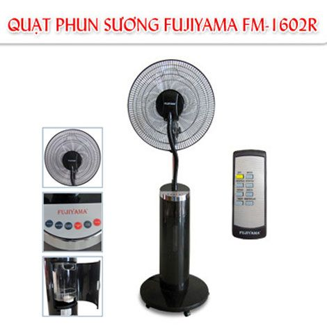 Giải nhiệt mùa nóng với quạt phun sương Fujiyama FM-1602R