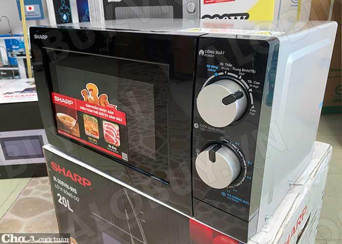 Xả kho lò vi sóng Sharp R-209VN-SK giá từ 1,09 triệu