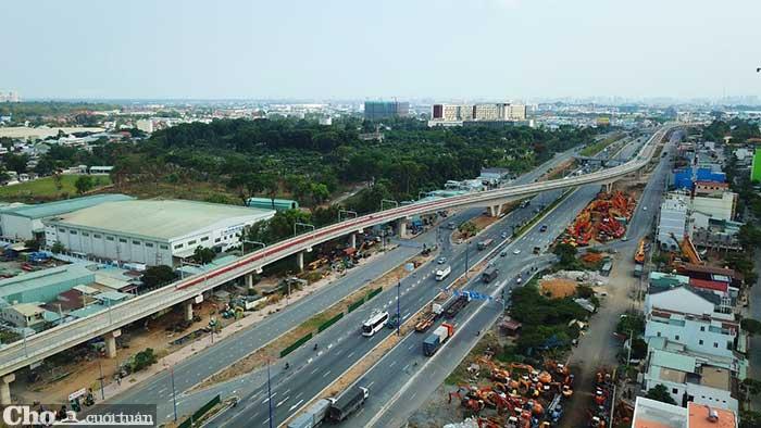 Thị trường bất động sản tăng nhiệt theo đề án thành phố phía Đông