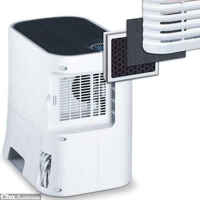 Máy lọc không khí và tạo ẩm Beurer LR330