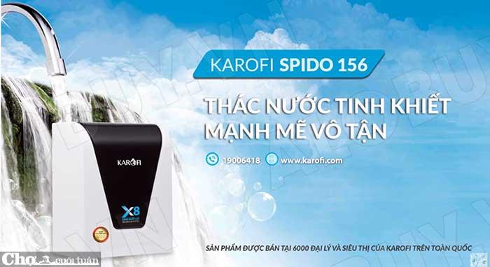 Máy lọc nước RO để bàn, gầm tủ KAROFI SPIDO S-s156