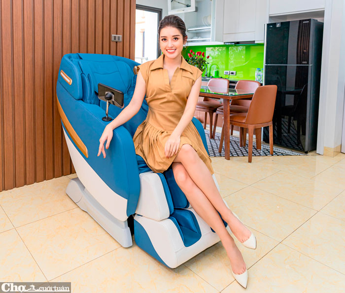 Elipsport ra mắt nhiều mẫu ghế massage tiên tiến, cập nhật công nghệ AI