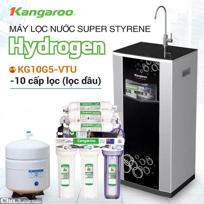 Máy lọc nước RO Hydrogen Superstyrene KANGAROO KG10G5VTU