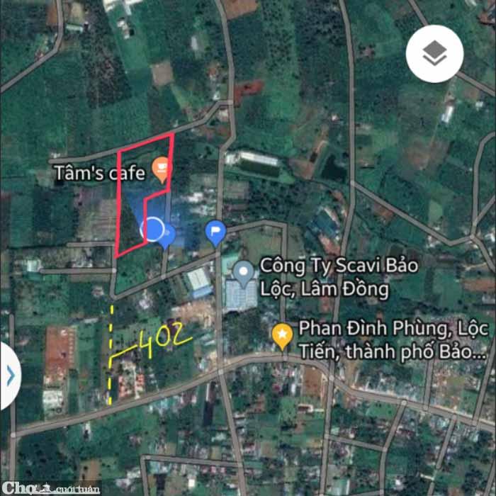 Cần sang Đất, Ao 1,8ha ngay trung tâm TP.Bảo Lộc
