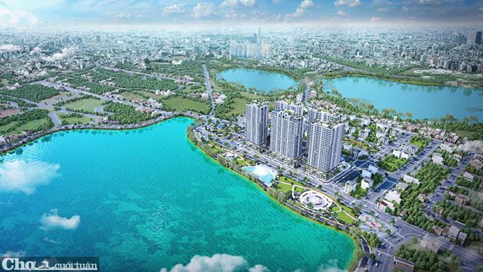 Tuyệt phẩm căn hộ cao cấp bên hồ ngay cửa ngõ Đông Sài Gòn