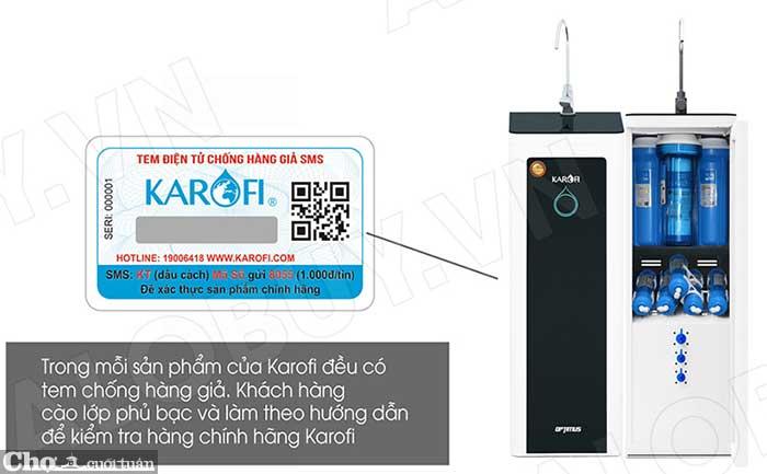Máy lọc nước RO KAROFI OPTIMUS i2 O-i229/A (9 cấp lọc)
