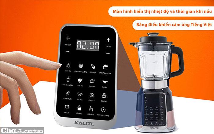 Máy làm sữa hạt đa năng Kalite E200