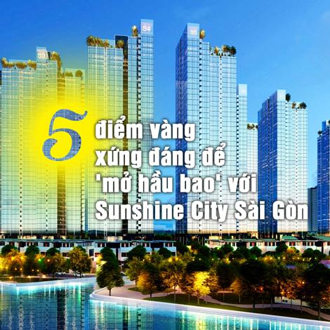 5 điểm vàng xứng đáng để mở hầu bao với Sunshine City Sài Gòn