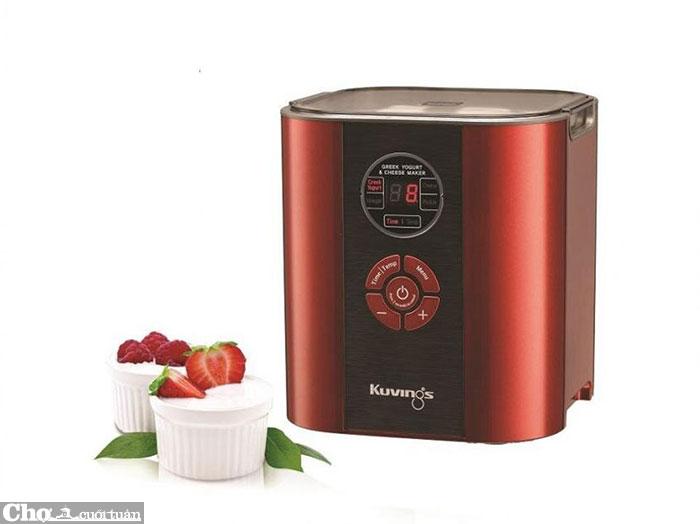 Đánh giá máy làm sữa chua, phô-mai 6 trong 1 Kuvings KGC-712CB