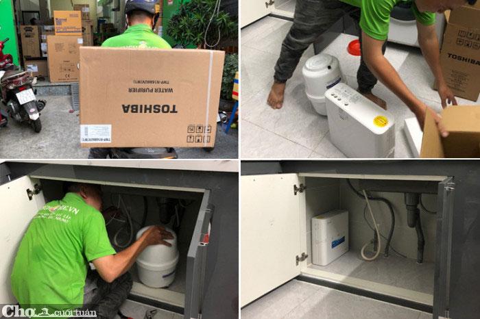 Máy lọc nước đầu nguồn A.O. Smith AOS AQ-1000 XS