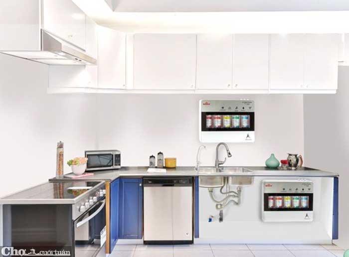Máy lọc nước UF siêu tiết kiệm cho căn bếp