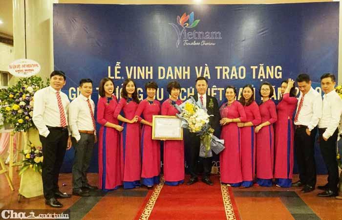 Công ty Du lịch Việt được tôn vinh tại Giải thưởng Du lịch Việt Nam