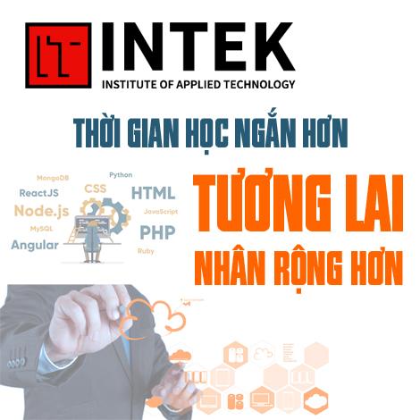 INTEK: Thời gian học ngắn hơn - Tương lai nhân rộng hơn