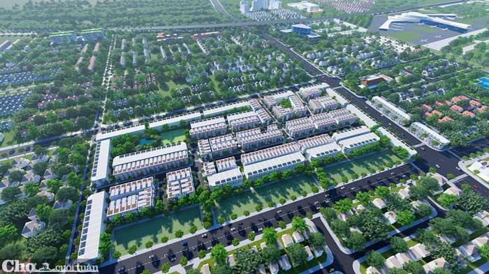 The Golden City Long Thành - đất nền sổ đỏ, lựa chọn an toàn