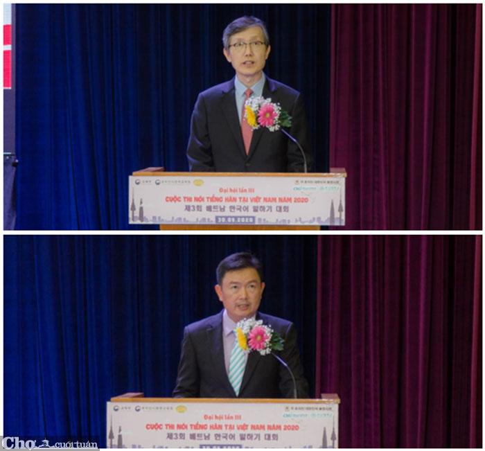 Đại hội lần III cuộc thi nói tiếng Hàn năm 2020 tại HUFLIT