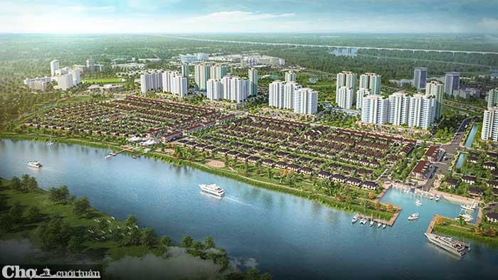 Có gì ở năm phân khu chức năng của thành phố bên sông Waterpoint