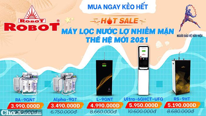 Hot Sale - Máy lọc nước lợ nhiễm mặn thế hệ mới 2021