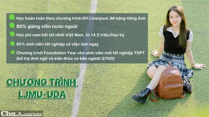Trở thành công dân toàn cầu ngay tại Việt Nam với chương trình LJMU-UDA