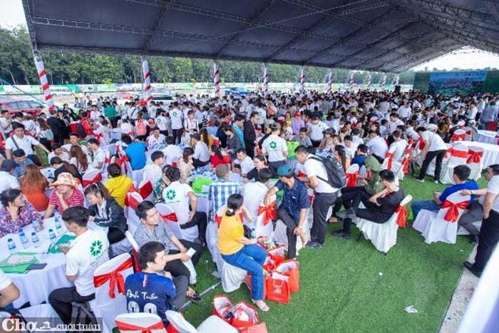 Hơn 1.000 khách hàng tham dự lễ khởi công công viên Eden Park