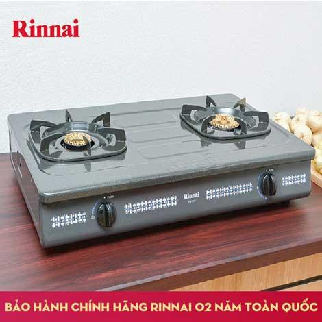 Xả kho bếp gas Rinnai 6 tấc RV-367G(N) giá từ 595 ngàn