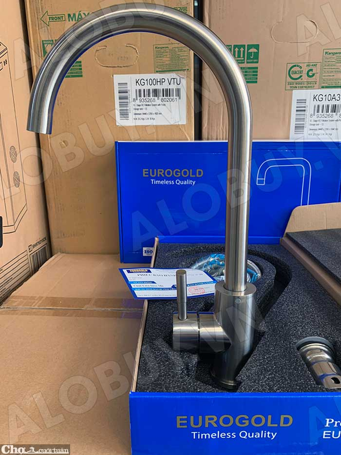 Vòi rửa bát inox 304 Eurogold EUF016M