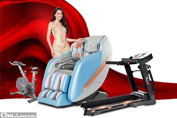 Ghế massage, máy chạy bộ ELIP giảm giá 80%++, duy nhất dịp lễ