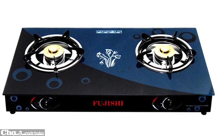 Bếp gas chén nhôm kính cường lực Fujishi FM-H10-N