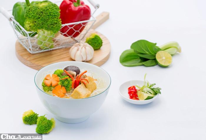 Miến ăn liền đậu xanh Khang Phúc