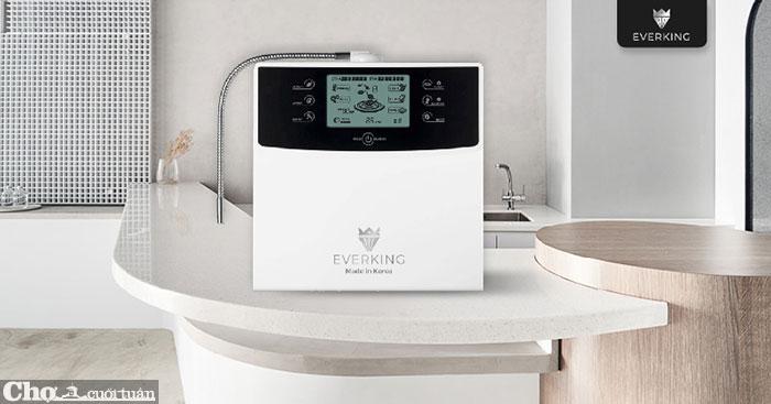 Máy lọc nước điện giải EVERKING EK-99 made in Korea, 9 tấm điện cực